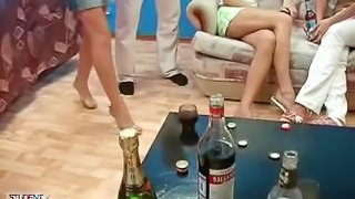 Russian collage orgy